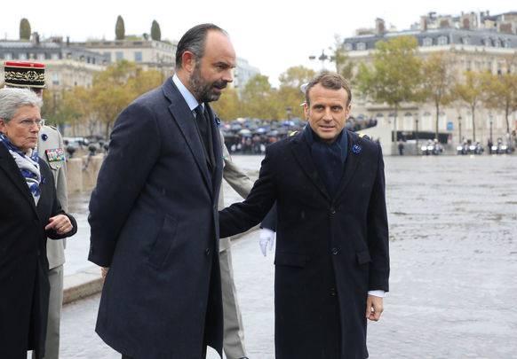 Macron und Philippe vor einigen Tagen.