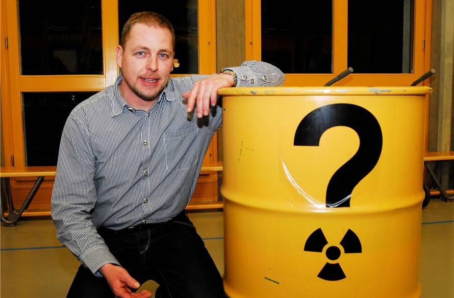 Gemeindeammann von Mellikon Rolf Laube über die Oberflächenanlage – er gibt sich neutral