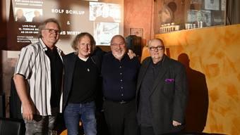 """""""Ganz unger üs"""" mit Kurt Gilomen, Rolf Schlup, Urs Wirth und Dagobert Cahannes"""