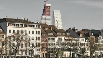 So hoch war der zweite Roche-Turm Mitte November.