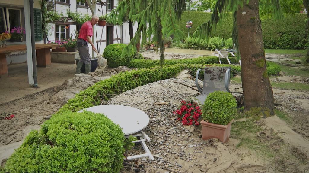 Regennacht: Dotnacht und Hugelshofen werden überschwemmt