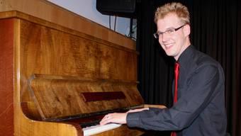 Auf der Bühne nimmt Markus Böni viele Rollen an.
