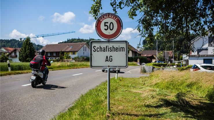 Ortseingang von Schafisheim.
