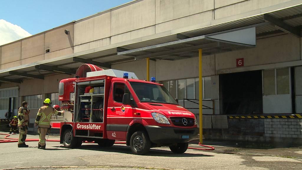 Uznach (SG): Hanfanlage bricht zusammen und verursacht Brand - hoher Sachschaden
