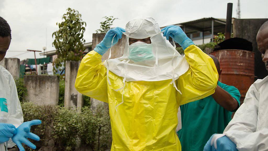 Erster Ebola-Fall in Millionenstadt Goma
