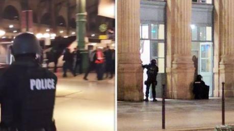 Grosser Polizeieinsatz am Pariser Nordbahnhof