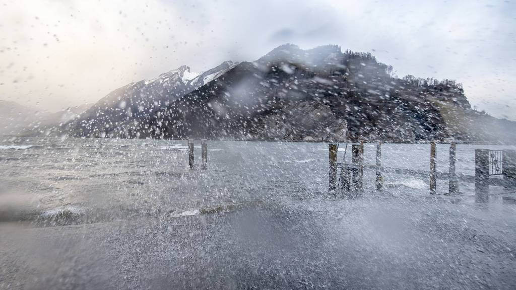 Sturm «Sabine» fegt mit bis zu 148 km/h über die Schweiz