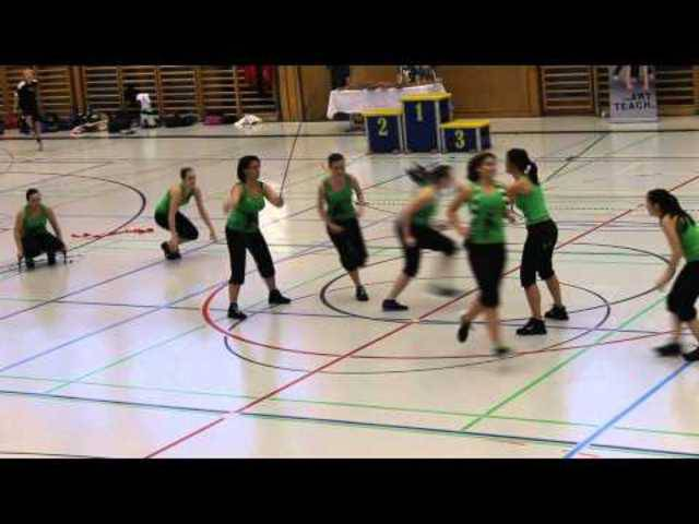 Rope Skipping STV Dietikon, Darbietung Swiss Rope Skipping Chamiponchips 2012