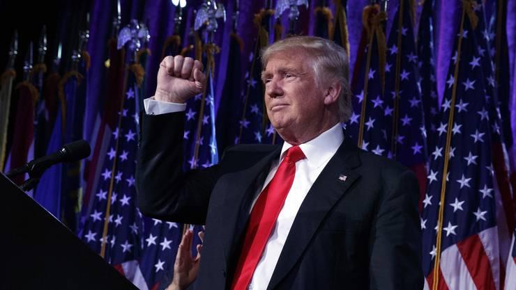 Ziel erreicht: Donald Trump ist der neue Präsident der USA.