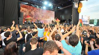 Infected Mushroom aus Israel infizierten 2012 Bühne und Publikum mit ihrer psychedelischen Show.