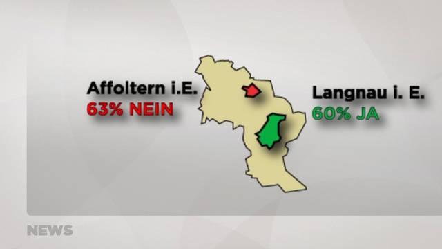 Abstimmungen: Grosse Unterschiede im Kanton Bern