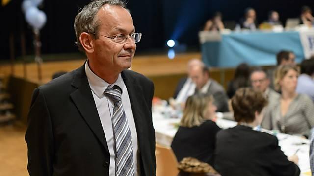 Frischgebackener Ständeratskandidat Olivier Français in Yvonand