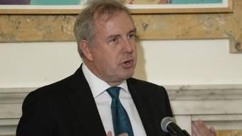 Nach einem Streit zwischen London und Washington hat der britische Botschafter Kim Darroch sein Amt niedergelegt. (Archivbild)