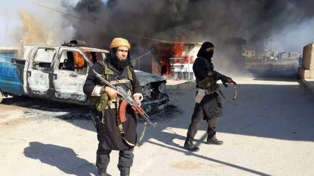 Die ISIS ist allgegenwärtig.