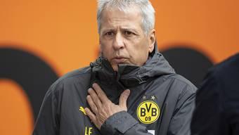 Enttäuschung für Lucien Favres Dortmund: Seine Borussia verliert in Augsburg 0:2