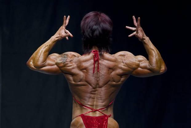 Die Gewinnerin des Wettbewerbs bei den Frauen: Jay Fuchs.