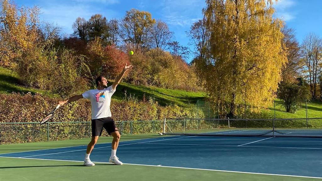 «Back to work» – Roger Federer ist zurück auf dem Tennisplatz