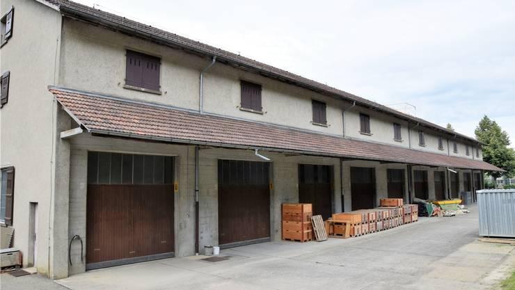 Das ehemalige Armeezeughaus befindet sich an der Mülligerstrasse.