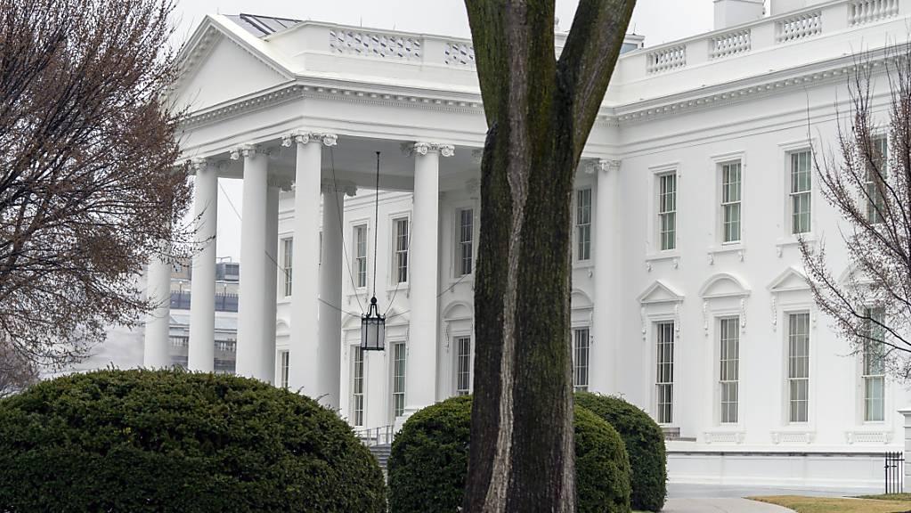 Das Weiße Haus in Washington. Foto: Andrew Harnik/AP/dpa