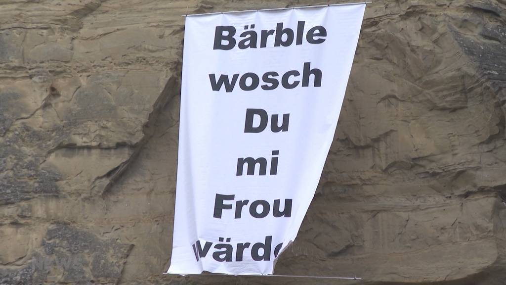 Waghalsiger Heiratsantrag: Burgdorf rätselt über Antwort von «Bärble»