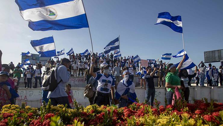 In Nicaragua sind erneut landesweit Demonstranten auf die Strasse gegangen, um eine Erneuerung der politischen Führung des Landes zu fordern.