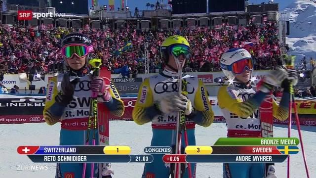 Medaillenloser Tag für die Schweiz