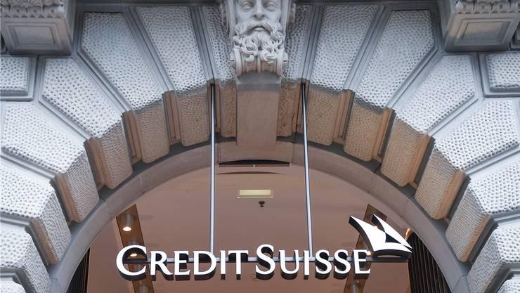 Will ihre Kostenbasis weiter senken: Grossbank Credit Suisse.