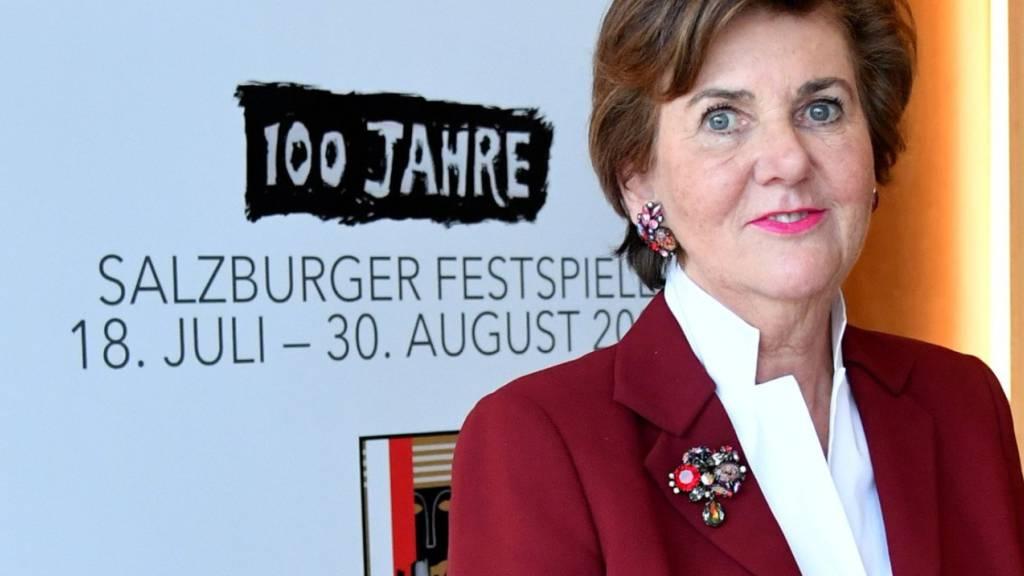 Rabl-Stadler will Salzburger Festspielen weiter vorstehen