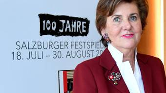 ARCHIV - Helga Rabl-Stadler ist Präsidentin der Salzburger Festspiele. Foto: Barbara Gindl/APA/dpa