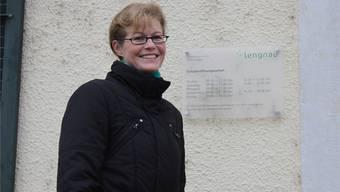 Die mit einem Glanzresultat neu gewählte Gemeindepräsidentin Lengnaus, Sandra Huber-Müller.