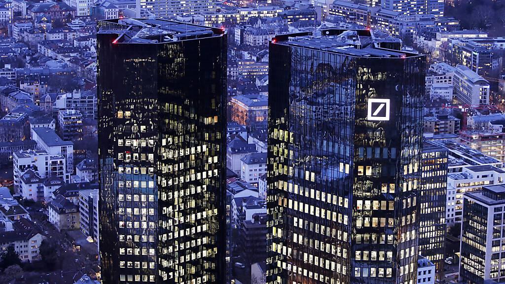 Die Europäische Bankenaufsicht hat auch die  Deutsche Bank einem Stresstest unterzogen. (Archivbild)
