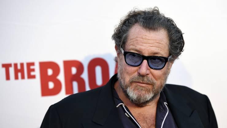 Der amerikanische Regisseur und Künstler Julian Schnabel.