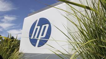 Das Hauptquartier von Hewlett-Packard in Palo Alto, Kalifornien (Archiv)