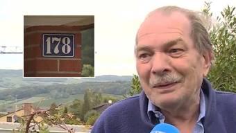 """Hanspeter Schütz im Beitrag von """"Tele M1""""."""