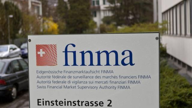 Die Finma erachtet Rückstellungen für Banken als notwendig (Archiv)