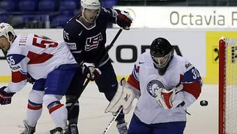 US-Stürmer Nick Palmieri schoss gegen Norwegen zwei Tore