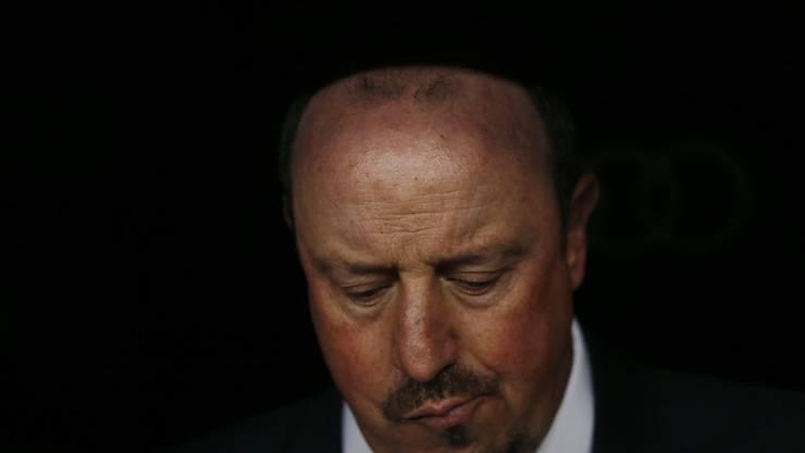 Rafael Benitez gerät bei Real Madrid immer mehr unter Druck