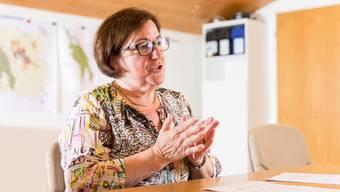 «Ich bin eine extreme Teamplayerin», sagt Sabina Vögtli, wenn sie über ihre Tätigkeit als Gemeindeammann spricht. Claudio Thoma