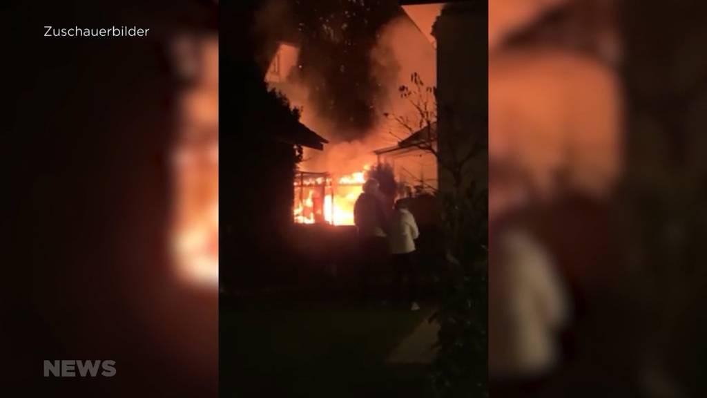 Brand in Kirchberg-Alchenflüh: Feuerwehr muss ausrücken