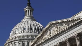Ort der Entscheidung: Capitol of Washington, das Parlament der USA.