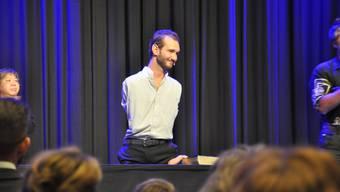 Das Publikum in Dietikon war begeistert von Nick Vujicic.