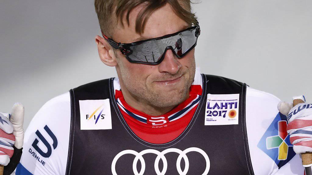 Nicht in Form: Petter Northug