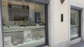 In die Bijouterie Maegli in Solothurn wurde eingebrochen.