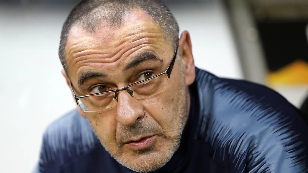 Noch nicht an der Seitenlinie: Juventus-Trainer Maurizio Sarri laboriert noch an den Folgen einer Lungenentzündung