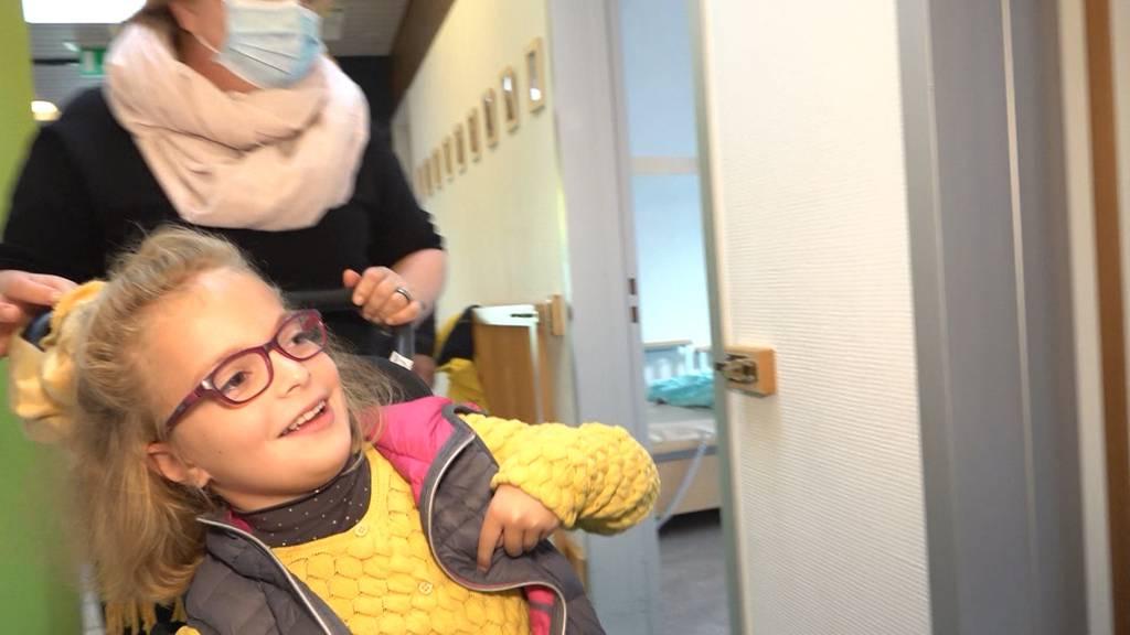 Kinderspitex hilft Eltern von pflegebedürftigen Kindern aus