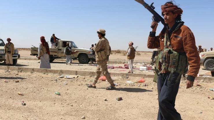 In Jemen gingen die Kämpfe trotz den Verhandlungen in der Schweiz weiter. (Archiv)