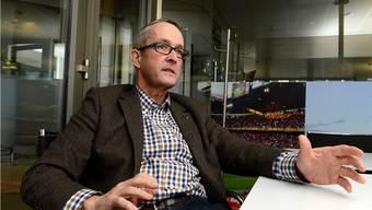 Auch von der CVP zur Wahl empfohlen: Thomas Weber (SVP).