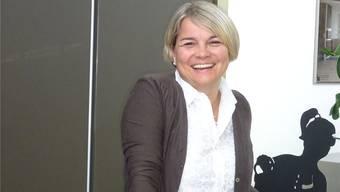 Franziska Bircher in der Küchenausstellung der Brogle AG in Wittnau. Sie ist Mitinhaberin der Firma.