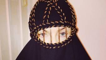 Praktisch für Schminkfaule: Madonnas Burka (Instagram)