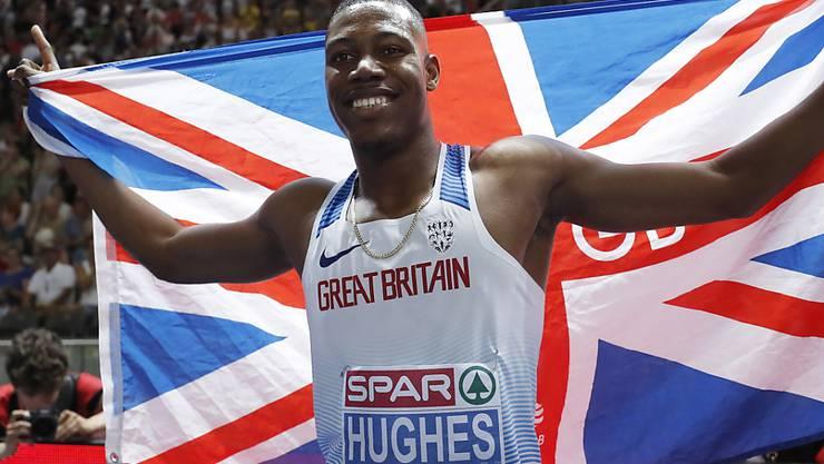 Zharnel Hughes ist der schnellste Europäer